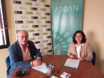 La Unión de Consumidores de Málaga y ASOAN firman un acuerdo de colaboración para trabajar en los derechos de las prestaciones de ortopedia