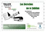 Taller online 'Los derechos no se jubilan' - 15 de octubre