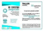 Taller formativo online 'Mi Consumo Asegurado'