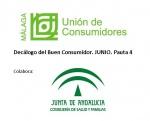 Decálogo del Buen Consumidor. Cuarta publicación.